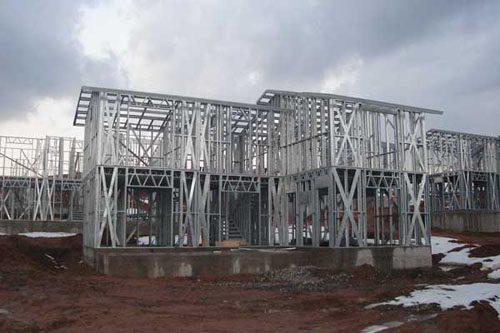 Здания на основе облегчённого металлического каркаса в Ростове-на-Дону